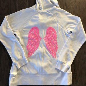 Victoria's Secret zip up hooded sweatshirt